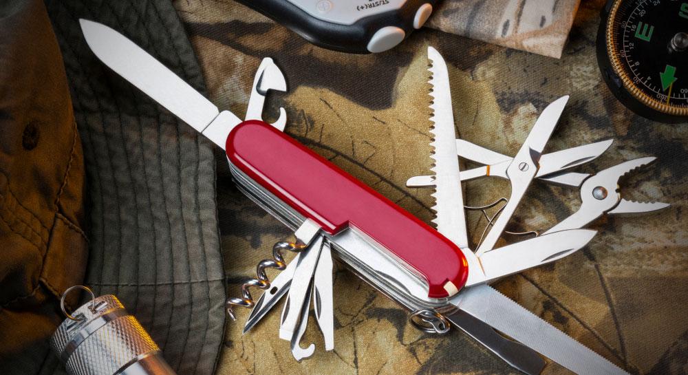 Victorinox Swiss Army Tinker Pocket Knife